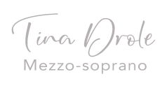 Tina Drole Mezzo-sopran Logo